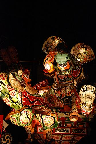 Hirosaki Neputa Festival, Aomori, Japan 弘前ねぷた祭り