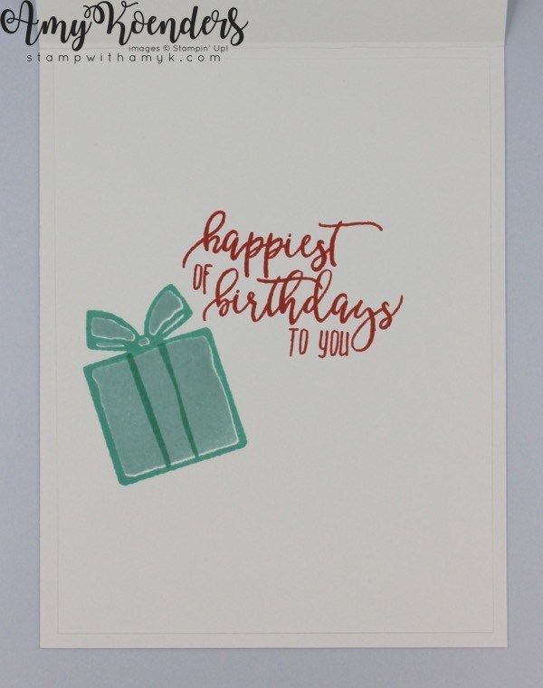 Stampin Up Nothing Sweeter Birthday And Christmas Cards Stamp With Amy K