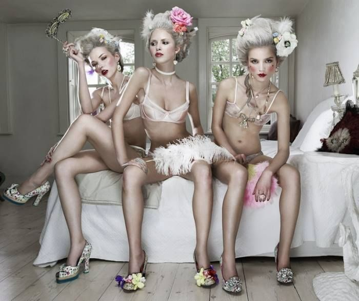 """""""Let Them Eat Cake"""", photo by John Wright for GQ Style UK"""