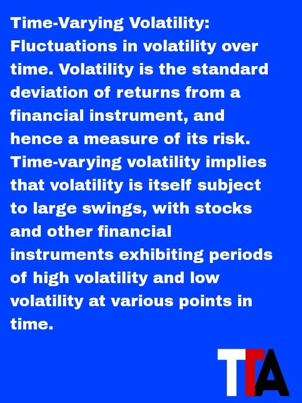 the meaning of volatility