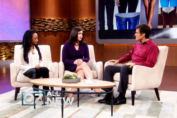 America's Dangerous New Diet Trend: Achieving the Thigh Gap. Dr.Oz takes on Author of new trend diet-Thigh Gap Hack.