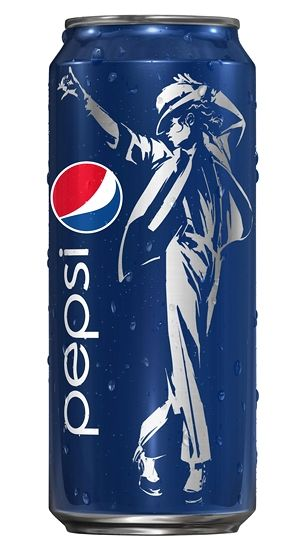 Pepsi has struck a deal with the Michael Jackson estate to create a series of soda cans featuring an image of the late pop icon. One billion cans celebrating the 25th anniversary of Jackson's album Bad will be produced around the world as part of the soft drink company's Live for Now campaign.
