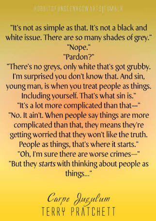 Terry Pratchett quote