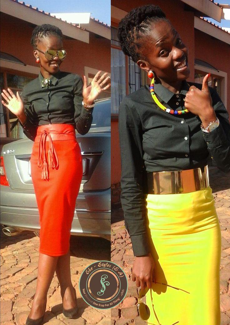 #MsBfor SheStyles#KhelinahAccessory##SouthAfricanFashion#Skirts#Belts