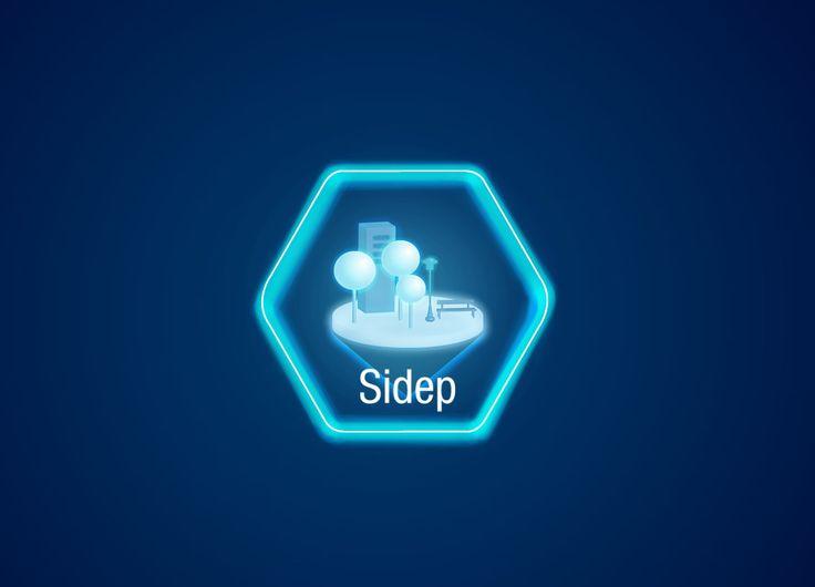 Diseño Logo - Sidep (Sistema de Información de la Defensoría del Espacio Público)