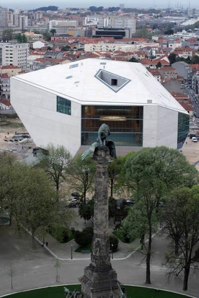 Rem Koolhaas and Office of Metropolitan Architecture (OMA)- Casa da Música - Porto, Portugal