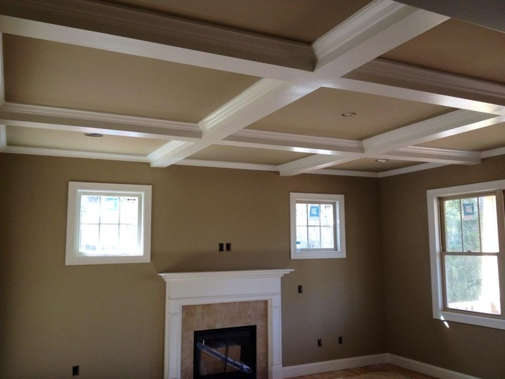 15 Best Images About Ceiling Beams Molding Ideas On