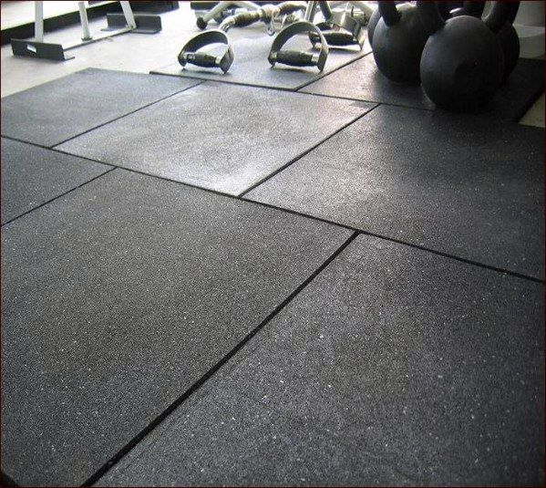 Top 40 Best Home Gym Floor Ideas