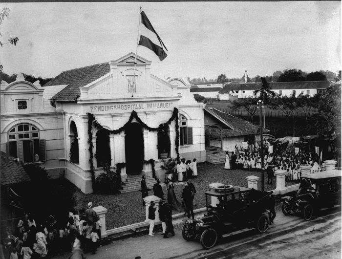Immanuel Hospital Bandung, the picture took around 1910