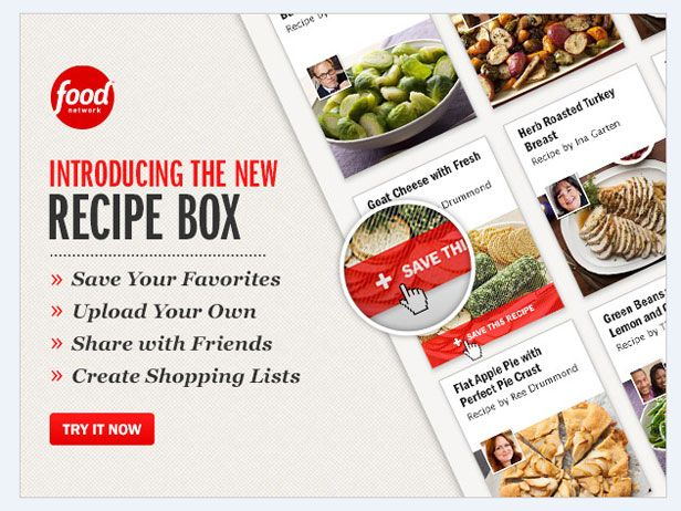 Introducing Recipe Box - FoodNetwork.com's newest tool!Introducing Foodnetwork Com, Food Network, Recipe Boxes, Dinner Food, Foodnetwork Com Newest, Foodnetwork Com 8217 Newest, Foodnetwork Recipe, Favorite Recipe, Food Drinks