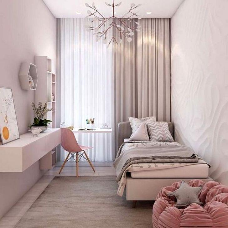45 Elegant Small Master Bedroom Inspiration On A Budget Small Apartment Bedrooms Apartment Bedroom Design Bedroom Interior