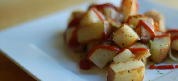 Big Sister's Home Fries by Plant Based on a Budget