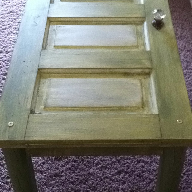 Old Door Coffee Table I Want To Recreate This Pinterest
