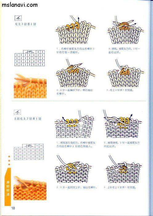Как читать схемы в японских журналах.