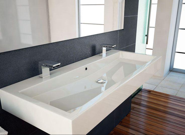 Moderne Badezimmermöbel Doppelwaschbecken ~ Doppelwaschbecken auf Pinterest  Doppelwaschtisch, Doppelwaschbecken
