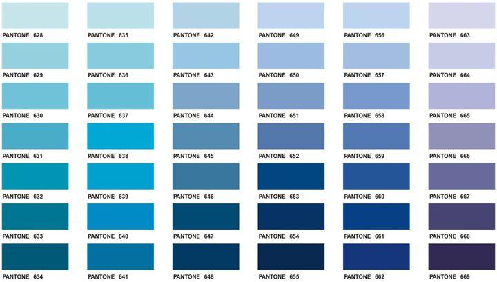 Pantone color chart colors panton fashion fashion color for Dark blue color chart