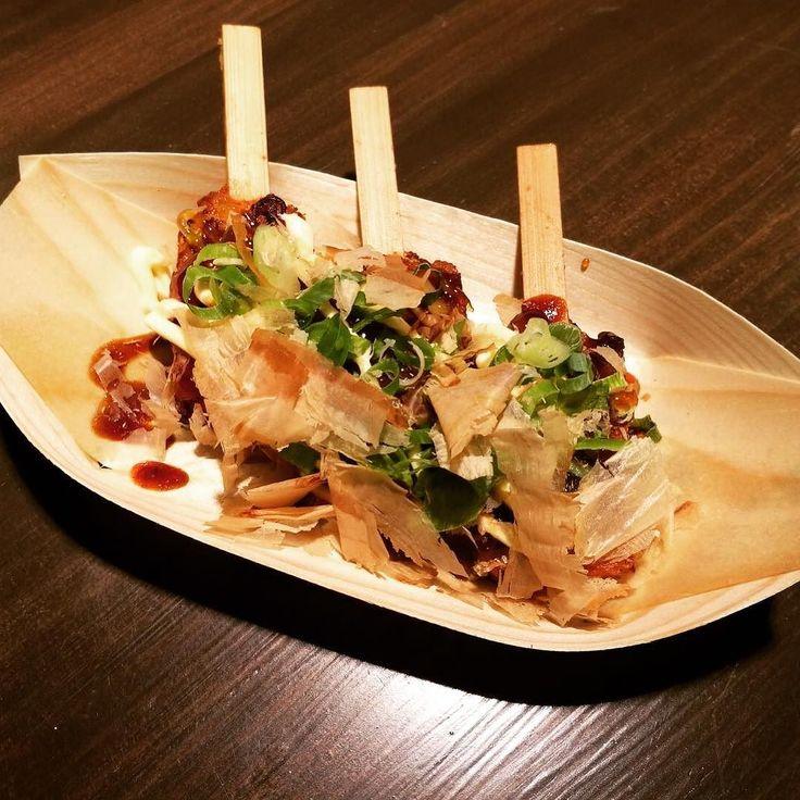 Solo en #Kaguraexpress en el @mercadosananton podrás probar nuestro okonomiyaki de pulpo  #Hanakura #ramenkagura #Kuraya