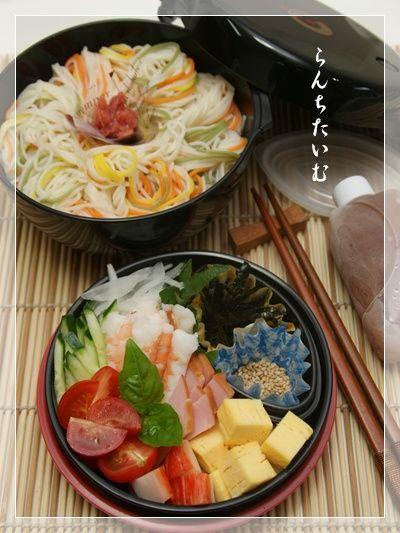 ぶっかけサラダ素麺 - スポンサー広告弁当箱