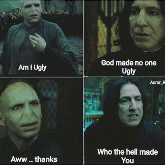 Peter Pettigrew, you muggle