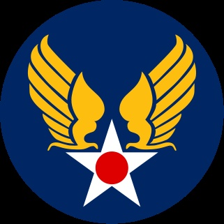 US Army Air Corp insignia.  Next tattoo for me in honor of my grandfather who flew in WW2