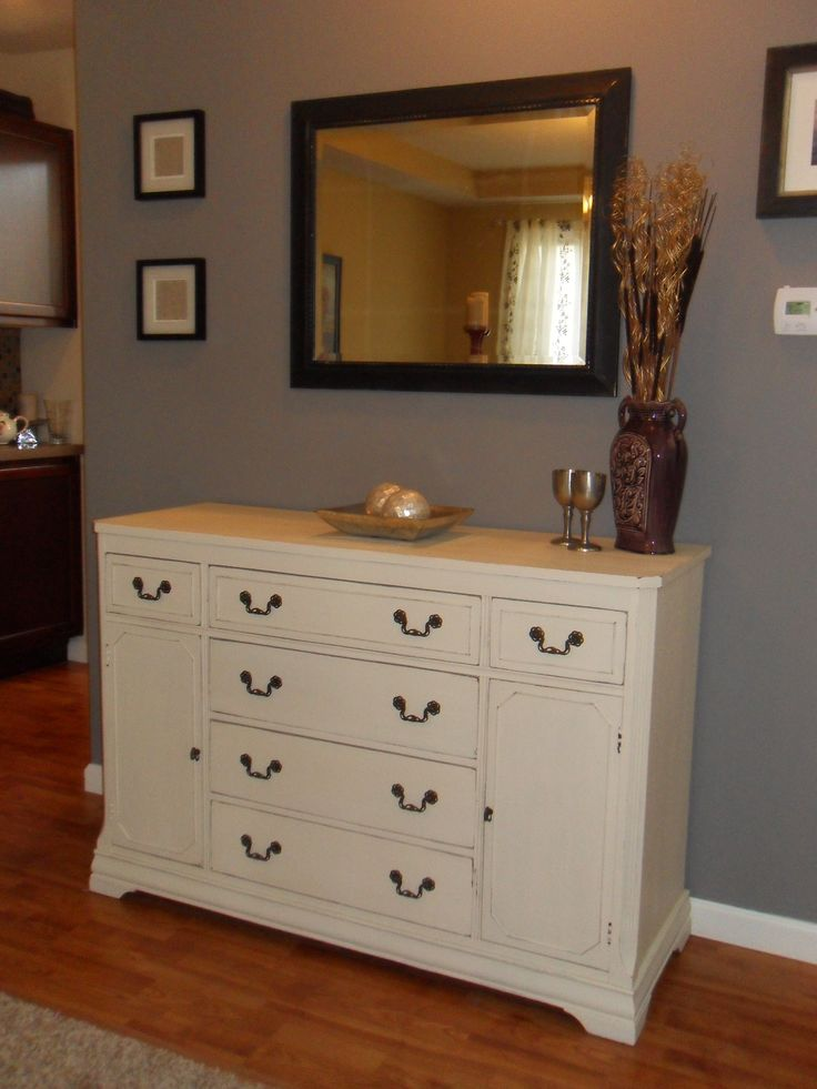 10 best painted buffets images on pinterest painted for Chalk paint at sherwin williams