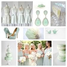 mint green (not obnoxious trashy mint, but subtle mint), grey, navy and a touch of gold.  These are the colors ladies!