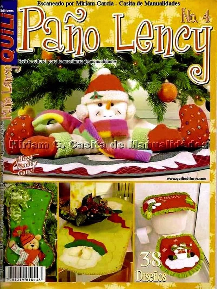Revista Navideña  Paño Lency  No.4