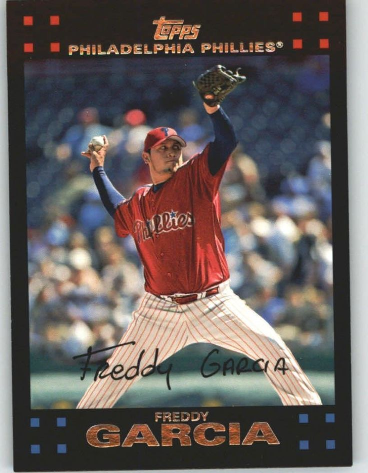 2007 Topps 197 Freddy Garcia - Philadelphia Phillies (Baseball Cards) *** This is an Amazon Affiliate link. Read more at the image link.