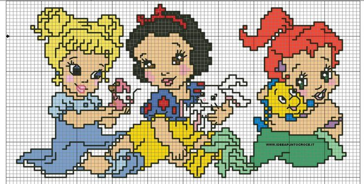 schema baby principesse disney by syra1974.deviantart.com on @deviantART