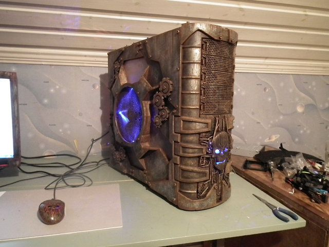 How to make a steampunk computer