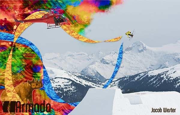 Armada skiing wallpaper