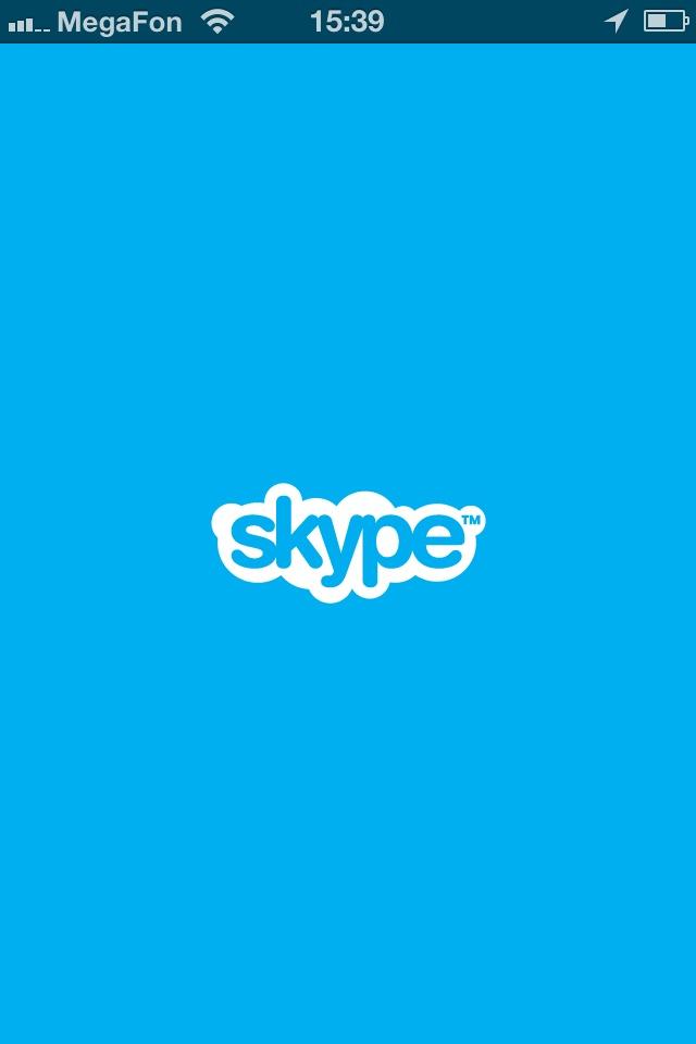 Skype  https://itunes.apple.com/ru/app/skype/id304878510?mt=8