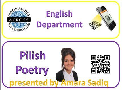 Our ENGLISH Maths Champion explains PILISH POETRY. TAR