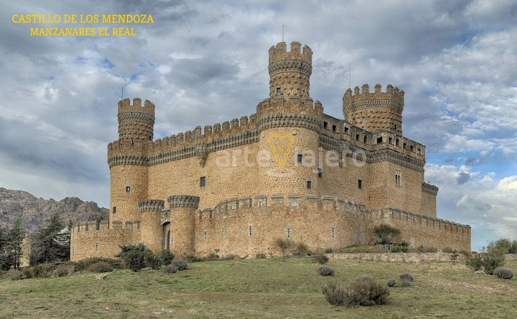 Castillo de los Mendoza, Manzanares El Real. Provincia de Madrid