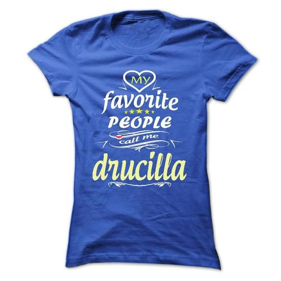 My Favorite People Call Me drucilla- T Shirt, Hoodie, H - #gifts #graduation gift. GET IT => https://www.sunfrog.com/Names/My-Favorite-People-Call-Me-drucilla-T-Shirt-Hoodie-Hoodies-YearName-Birthday-Ladies.html?68278
