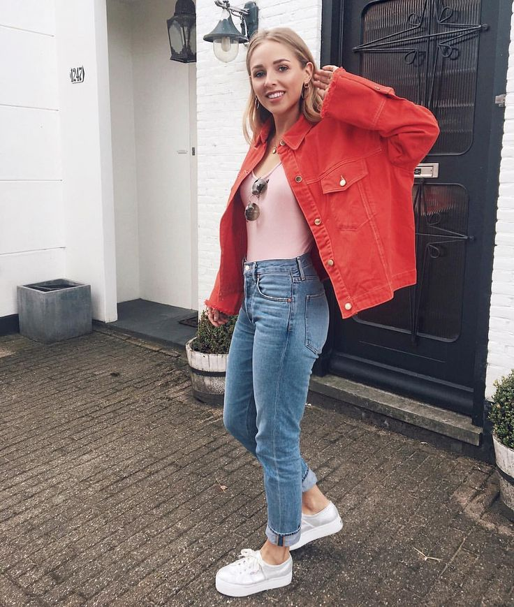 beautiful denim and red outfits wedding