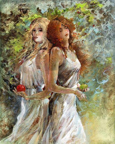 Painting by Lena Sotskova