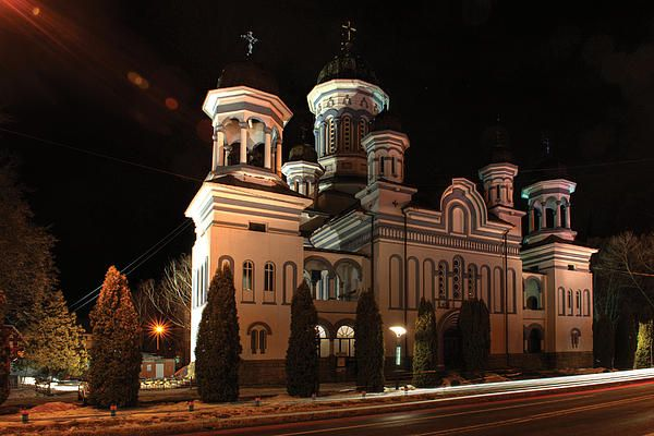 """""""Descent Of The Holy Spirit"""" Orthodox Cathedral In Radauti - ROMANIA"""