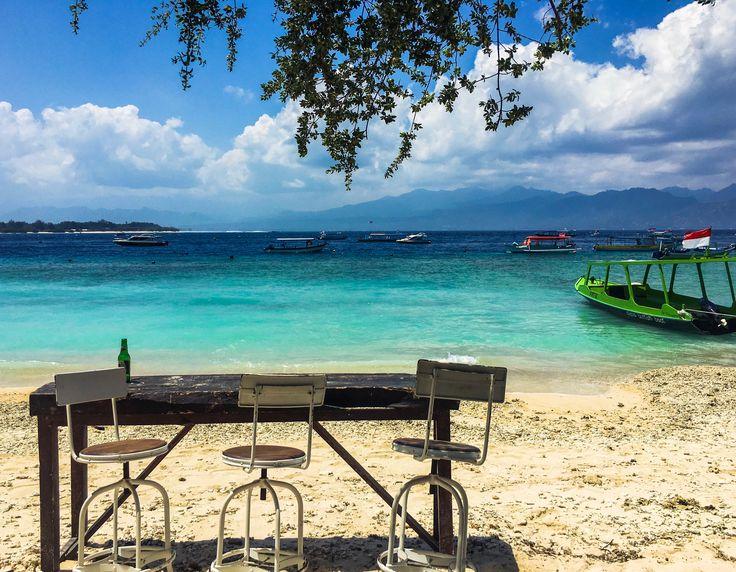 Chilled out Island life on Gili Trawangan. 🌴