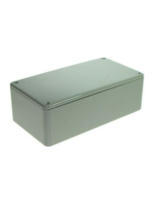 Plastic enclosure grey 150 x 80 x 50 mm ABS, high-impact IP 54 With lid Buy {0}