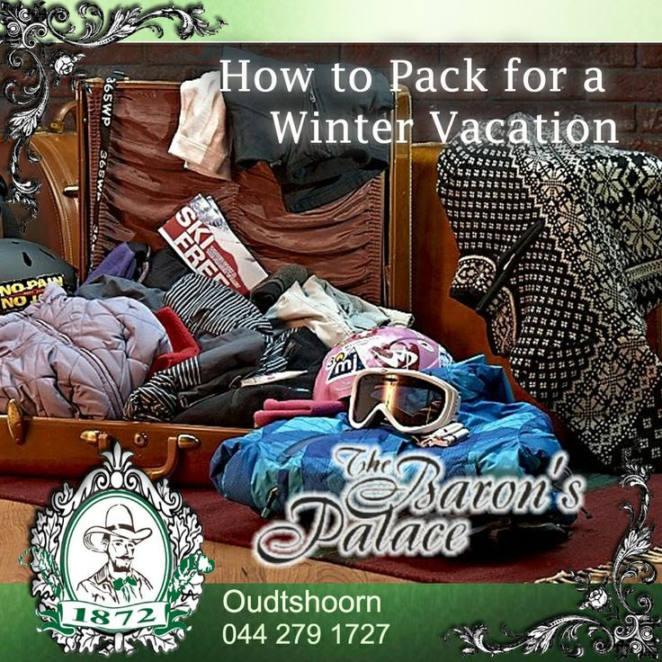 Traveling during the holiday season is stressful enough. Here are great packing tips for winter holidays that will help your family. Click here to read more: http://on.fb.me/Qz579s #travel #winter #pack