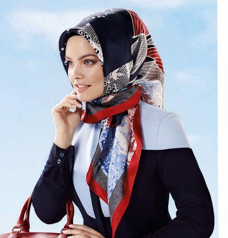 Armine Silk Hijab Scarf Spring Summer 2015 #6914 – Modefa USA