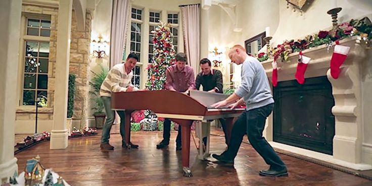 WATCH: The Piano Guys Will Blow You Away With 'Angels We Have Heard on High'