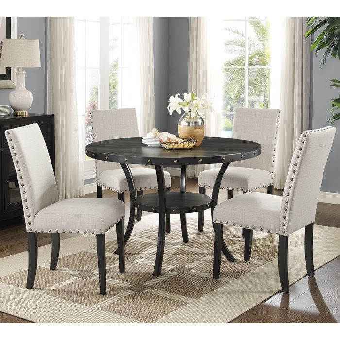 Amy 5 Piece Dining Set Wooden Dining Table Set Wooden Dining