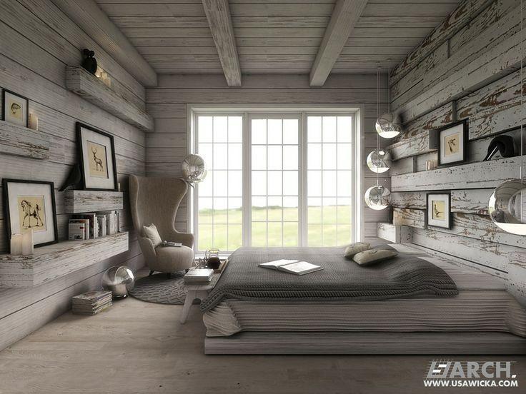 Farmhouse. Bedroom. www.usawicka.com