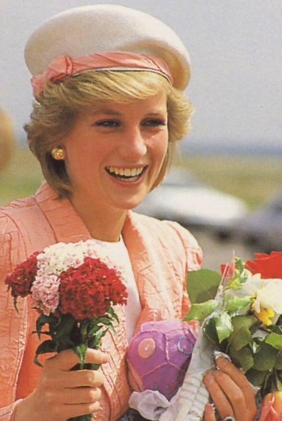 Diana, the Princess of Wales, in Japan, May 12, 1986.