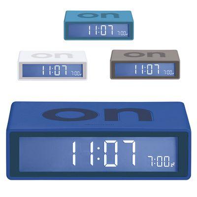 RELOJ DIGITAL DE MESA FLIP REF:VIP-42   Reloj Dígital de Mesa.  En ABS con Impresión ON y OFF en la Parte Superior e Inferior Respectivamente. Este Producto Se Vende Sin Marca.  Tipo de Producto: IMPORTADO  Medidas: 10.5 cm ancho x 2.9 cm alto x 6.5 cm.  Colores Disponibles: Turquesa, Gris, Blanco y Azul Oscuro.