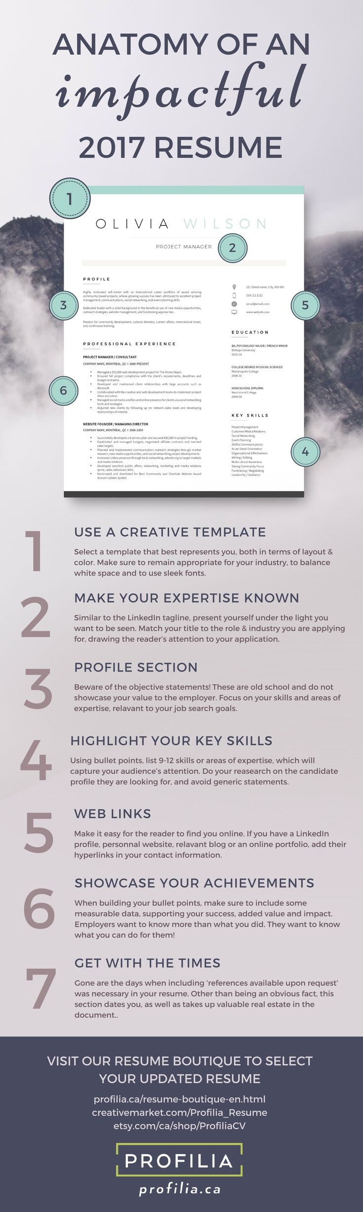 Anatomy of an impactful resume #resume #resumetips #resumetemplate #resumeadvice #creativeresume #job #jobsearch #jobseekers #jobs #cv