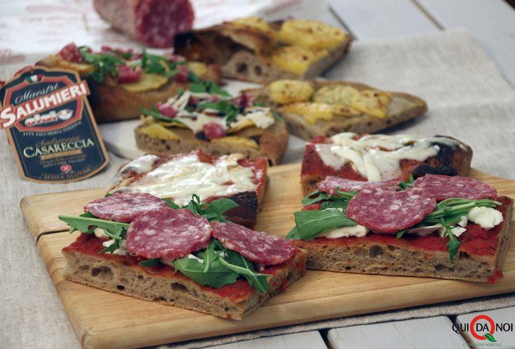 PIZZA AI SETTE CEREALI CON SALSICCIA CASARECCIA CLAI   Qui da Noi Blog