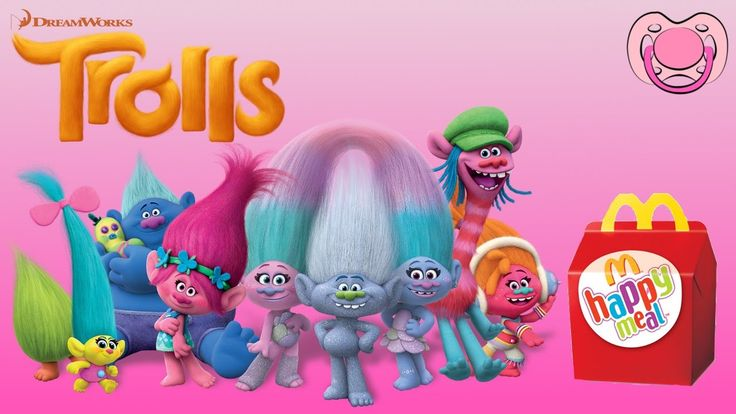 Trolls - Surpresas da Happy Meal
